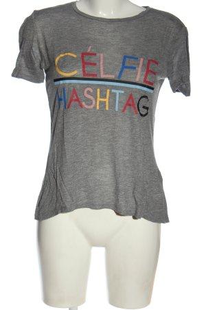Pieces T-Shirt meliert Casual-Look