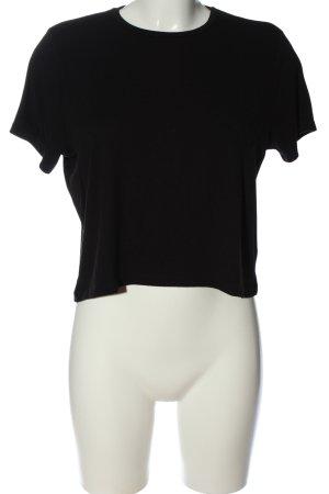 Pieces Camiseta negro look casual