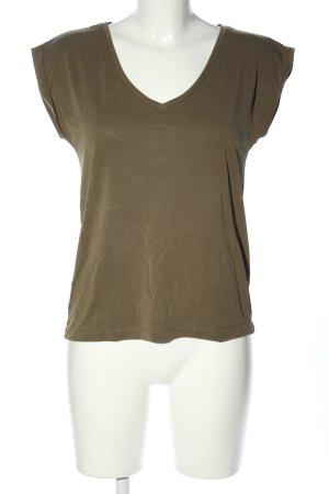 Pieces T-Shirt braun Casual-Look