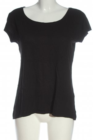 Pieces T-Shirt schwarz Casual-Look