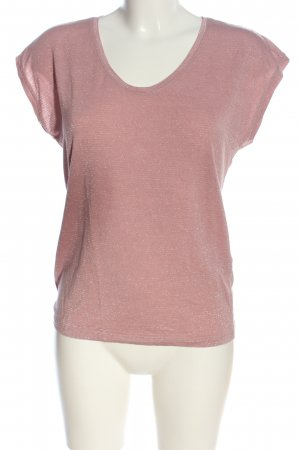 Pieces T-Shirt pink Casual-Look