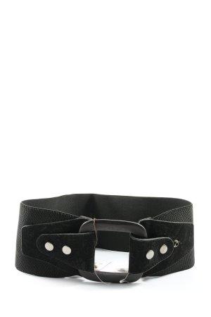 Pieces Waist Belt black business style
