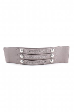Pieces Waist Belt light grey elegant