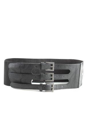 Pieces Cintura vita nero elegante