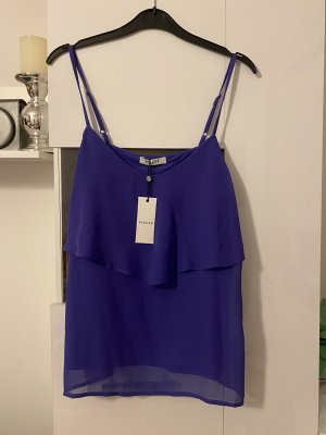 Pieces Blouse topje blauw