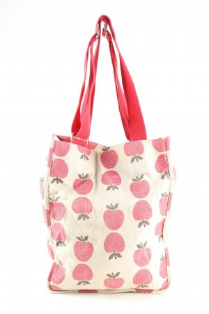 Pieces Tote wollweiß Allover-Druck Casual-Look