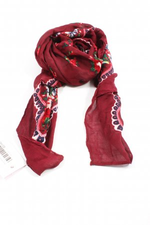 Pieces Traditional Scarf abstract pattern elegant