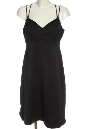 Pieces Trägerkleid schwarz Elegant