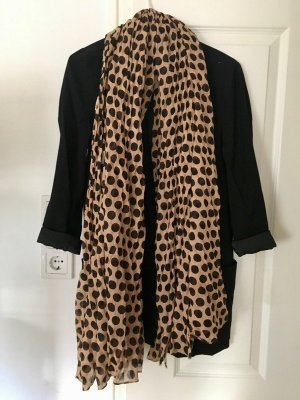 Pieces Shoulder Scarf cream-black