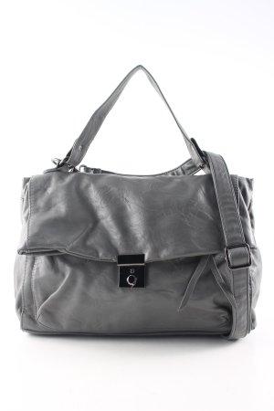Pieces Borsa a spalla grigio chiaro stile professionale