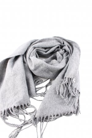 Pieces Woolen Scarf light grey casual look
