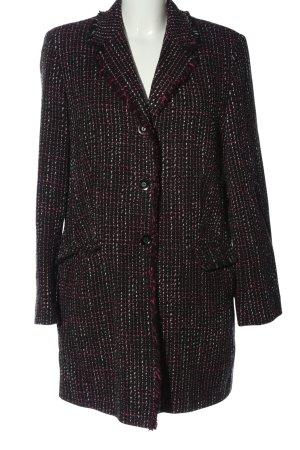 Pier Angelini Between-Seasons-Coat check pattern casual look