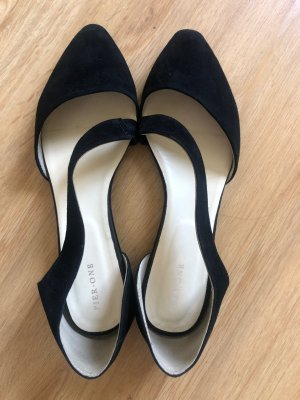 Pier one Strappy Ballerinas black leather