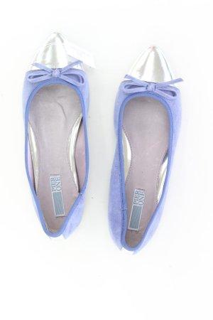 Pier One Ballerinas Echtleder Größe 39 neuwertig blau