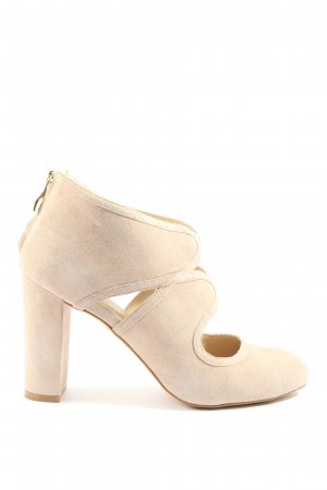 Pier one Cut Out Booties natural white casual look