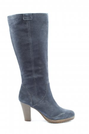 Pier one High Heel Boots blue casual look