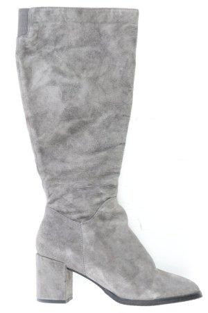 Pier One High-Heel Stiefel Größe 39 grau