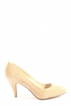 Pier one High Heels creme Business-Look