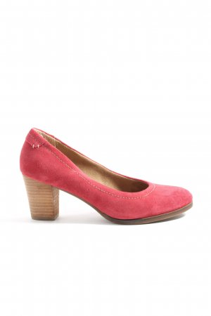Pier one Hochfront-Pumps rot-braun Casual-Look