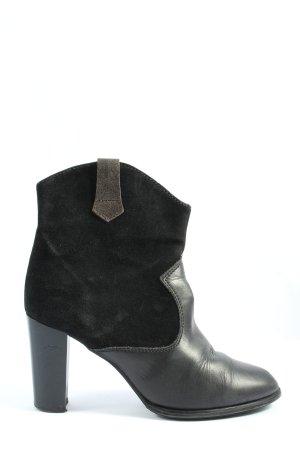 Pier one Reißverschluss-Stiefeletten schwarz Casual-Look