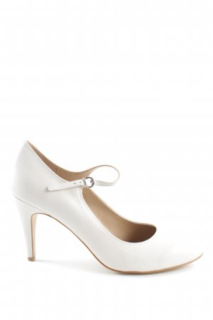 Pier one Tacones de tiras blanco look casual