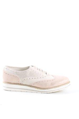Pier one Chaussures à lacets blanc cassé style décontracté