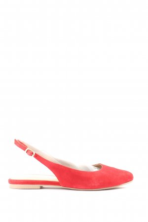 Pier one Slingback Ballerinas red business style