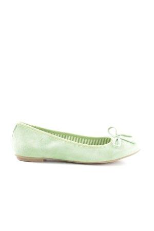 Pier one Slingback Ballerinas grün Casual-Look