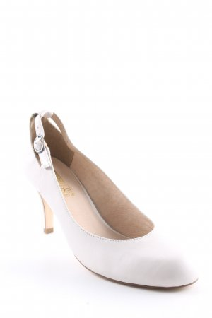 Pier one T-Strap Pumps white-cream Ring elements