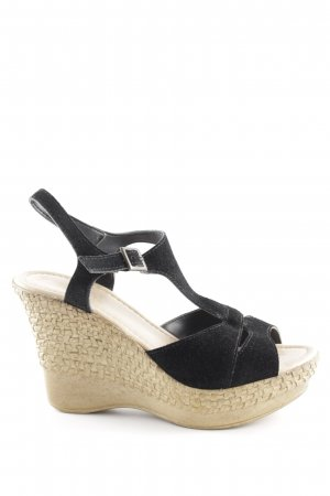 Pier one Wedges Sandaletten Webmuster Casual-Look