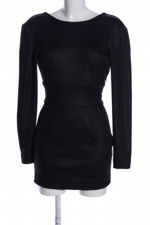 Pierre Balmain Abito cut out nero elegante
