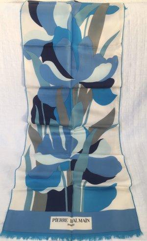 Pierre Balmain Sciarpa di seta multicolore