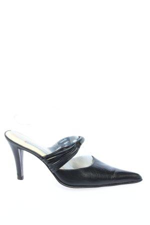 Pierre Cardin Heel Pantolettes black elegant
