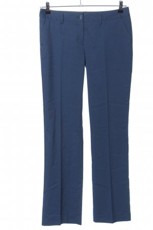 Pierre Cardin Bundfaltenhose blau Business-Look