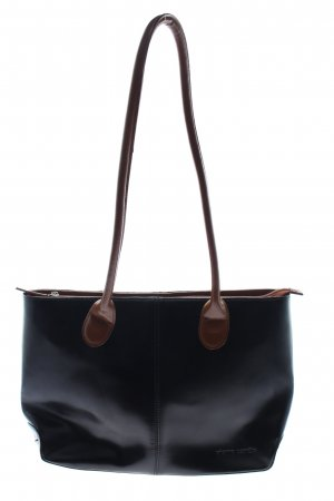 Pierre Cardin Bolso barrel negro-marrón look casual