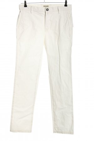 Pierre Cardin Jeans a vita alta bianco stile casual