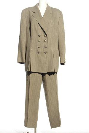 Pierre Cardin Garnitur damski brązowy W stylu biznesowym
