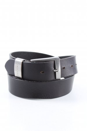 Pierre Cardin Leather Belt black business style
