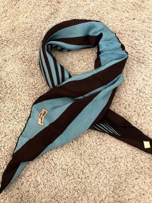 Pierre Cardin Sciarpa di seta nero-blu