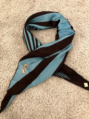 Pierre Cardin Bufanda de seda negro-azul