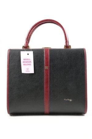Pierre Cardin Travel Bag black-red casual look
