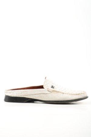 Pierre Cardin Sabots white-cream allover print casual look
