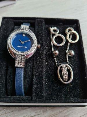 Pierre Cardin Horloge met lederen riempje veelkleurig
