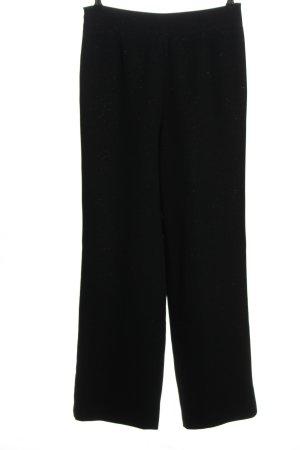 Pierre Cardin Pantalón tipo suéter negro look casual