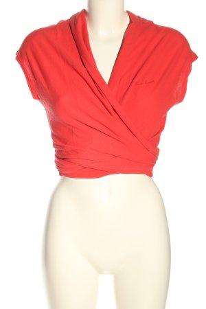 Pierre Cardin Gilet tricoté rouge style décontracté