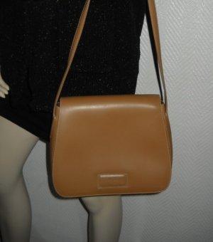 Pierre Cardin Tasche Shopper Bag Schultertasche Handtasche braun camel Marke Rar