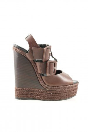 Pierre Hardy Wedges Sandaletten braun Casual-Look
