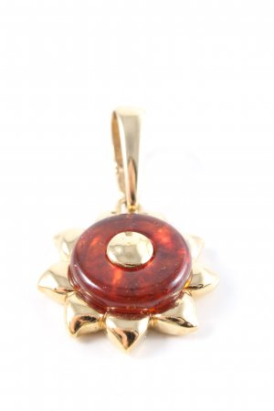 Pierre Lang Anhänger goldfarben-rot Elegant