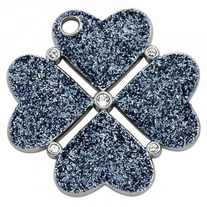 Pierre Lang Pendente argento-blu scuro