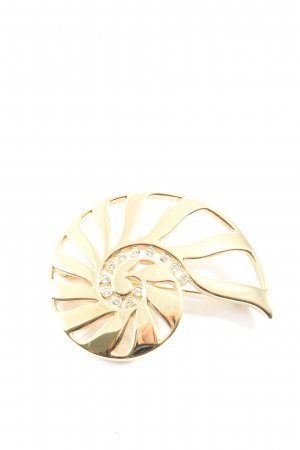 Pierre Lang Brosche goldfarben Elegant